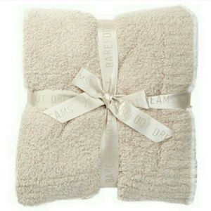 Barefoot Dreams Cozy Chic Contrast Tip Blanket